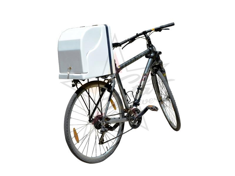 Polyester delivery boxes - Without insulation - Cycling delivery box